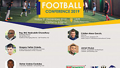 Football conference at Jaff on Dec...