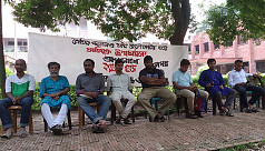 JU students continues protest for 2nd...
