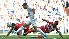 Hazard off the mark as Real increase...