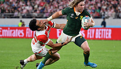 South Africa end Japanese dream at Rugby...