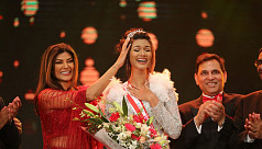 Shirin Akter Shela crowned Miss Universe Bangladesh