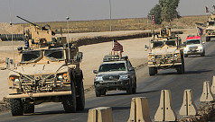 Withdrawing US troops enter Iraq from Syria