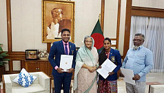 PM gifts flats to Shila, Shakil and...