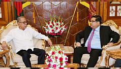 President for putting pressure on Myanmar...