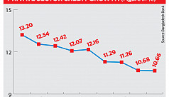 Pvt sector credit growth sinks to nine-year low