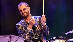 Ringo marks 80th at online gig with...