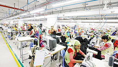 Garment factories closed till April...