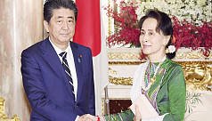 Create environment conducive for Rohingya return, Japanese PM tells Suu Kyi
