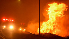 Pair of California wildfires destroy...