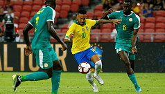 Brazil held to 1-1 draw by Senegal