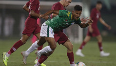 Booters lose to Qatar again, this time...
