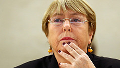UN rights chief says troubled by Hong...
