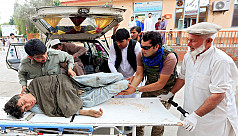 Truck bomb in eastern Afghan city kills five, Taliban claim responsibility