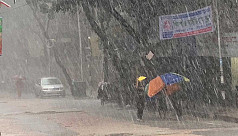 Rain soaks parts of country ahead of cold wave