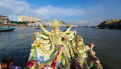 In pictures: Durga Puja ends