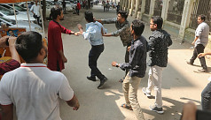 Chhatra Dal leaders attacked on Madhur...