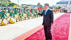Xi Jinping lands in India amid scattered...