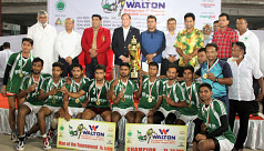 Navy emerged champions in premier division kabaddi