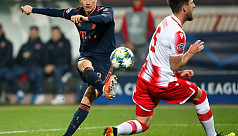 Lewandowski makes history with four goals in 15 minutes