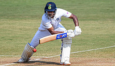 Agarwal reaches double with a...