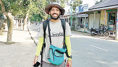 Man marches 64 districts, raises awareness on plastic pollution