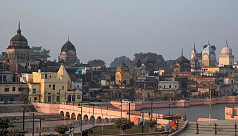 77 detained in India over holy site...