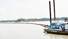 Dredging improves navigability in Barisal river port area