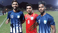 Booters win practice match in Oman