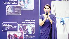 Bipasha Hayat inaugurates Vaseline Healing...