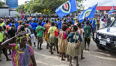 Bougainville votes on independence from...