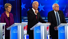 Democratic White House candidates unite on impeachment, differ on taxes, healthcare