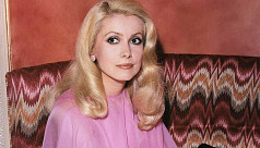 French film icon Catherine Deneuve...