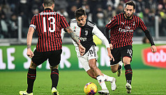 Dybala sinks Milan as angry Ronaldo substituted