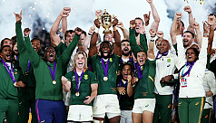 Springboks blitz England to win third World Cup