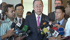 Ban Ki-moon seeks political solution...