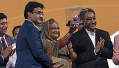 Ganguly: PM Hasina is an amazing...