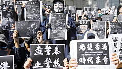 Huge Hong Kong rally after student dies,...