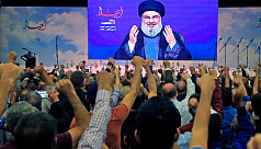 Hezbollah says its 'arms won't be twisted'...