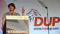 Northern Ireland's DUP will not support...