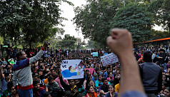 Police round up students in Delhi as...