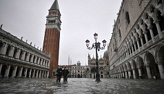 Infographic: Venice flooded by highest...