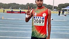 High jumper Mahfuzur bags gold in India