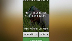 Jessore farmers unaware about digital rice procurement this season