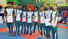 Bangladesh bag gold in South Asian...