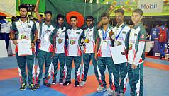 Bangladesh bag gold in South Asian Karate