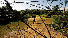 Rohingya killed in landmine blast in...