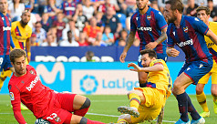 Barcelona slip to shock defeat after...