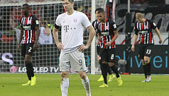 Bayern thrashed 5-1 at Frankfurt in heaviest league defeat for a decade