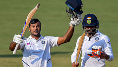 Imperious Agarwal leads India...
