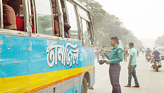 Bangladesh suffers as transport strike over new traffic law spreads